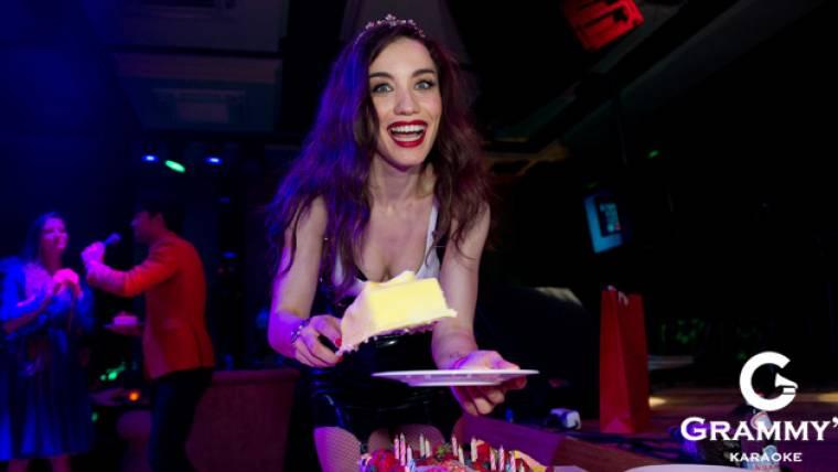День рождения Виктории Дайнеко в караоке-клубе «GRAMMY´S»!